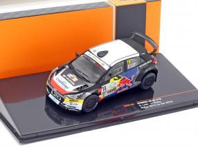 Hyundai i20 R5 #19 5th Rallye Terre du Var 2019 Loeb, Godey 1:43 Ixo