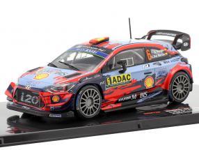 Hyundai i20 Coupe WRC #6 5th Rallye Germany 2019 Sordo, Del Barrio 1:43 Ixo