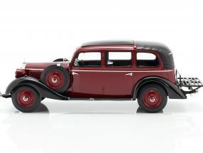 Mercedes-Benz 260 D (W138) Pullman Landaulet 1936 Burgundy red