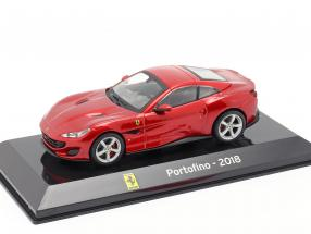 Ferrari Portofino year 2018 red 1:43 Altaya