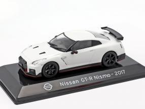 Nissan GT-R Nismo R35 Baujahr 2017 weiß 1:43 Altaya
