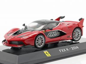 Ferrari FXX K #88 year 2014 red / black 1:43 Altaya