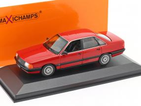 Audi 100 year 1990 red 1:43 Minichamps