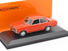 Opel Ascona A year 1970 red 1:43 Minichamps