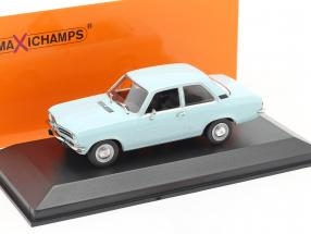 Opel Ascona A year 1970 light blue 1:43 Minichamps
