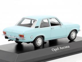 Opel Ascona A year 1970 light blue