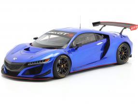 Honda NSX GT3 year 2018 hyper blue 1:18 AUTOart