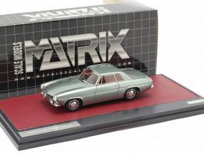 Jensen P-66 Prototype year 1964 green metallic 1:43 Matrix