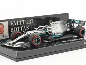 Valtteri Bottas Mercedes-AMG F1 W10 #77 2nd British GP F1 2019 1:43 Minichamps