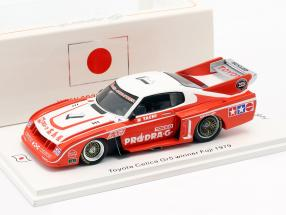 Toyota Celica LB Turbo #1 Winner Inter 200 Mile Fuji 1979 N. Tachi 1:43 Spark