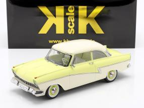 Ford Taunus 17M P2 year 1957 light yellow / white