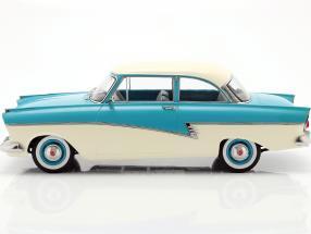 Ford Taunus 17M P2 year 1957 turquoise / white