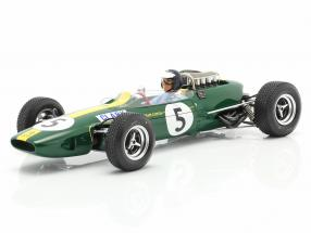 Jim Clark Lotus 33 #5 World Champion Great Britain GP formula 1 1965 1:18 Spark