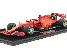 Charles Leclerc Ferrari SF90 #16 Winner Belgium GP formula 1 2019