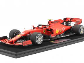 Charles Leclerc Ferrari SF90 #16 2nd Singapore GP formula 1 2019 1:18 LookSmart