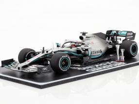 L. Hamilton Mercedes-AMG F1 W10 EQ Power  #44 World Champion 2nd USA GP F1 2019 1:18 Spark