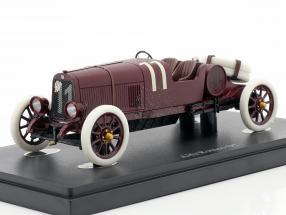 Alfa Romeo G1 Targa Florio #11 1921 dark red 1:43 AutoCult