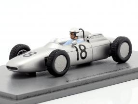 Jo Bonnier Porsche 804 #18 Italian GP formula 1 1962 1:43 Spark
