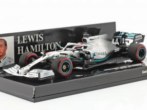 L. Hamilton Mercedes-AMG F1 W10 #44 German GP World Champion F1 2019 1:43 Minichamps