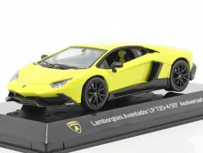 Lamborghini Aventador LP 720-4 50th Anniversary 2013 yellow 1:43 Altaya