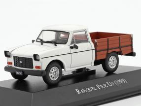Renault Ranquel Pick-Up Construction year 1989 White / brown 1:43 Altaya