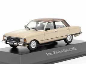 Ford Falcon Ghia year 1982 beige metallic / brown 1:43 Altaya