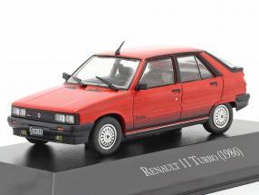 Renault 11 Turbo year 1986 red 1:43 Altaya