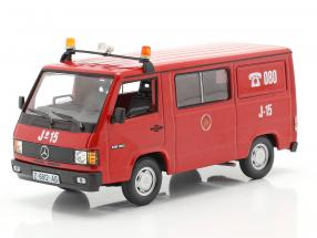 Mercedes-Benz MB180 fire Department Zaragoza red 1:43 Altaya
