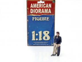 Skateboarder figure #3 1:18 American Diorama