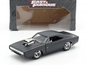 Dodge Charger R/T Fast and Furious 7 mat black 2015 1:24 Jada Toys