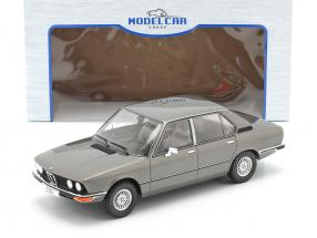 BMW 5-Series (E12) year 1974 dark grey metallic 1:18 Model Car Group