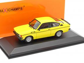 Opel Kadett C GT/E year 1978 yellow 1:43 Minichamps