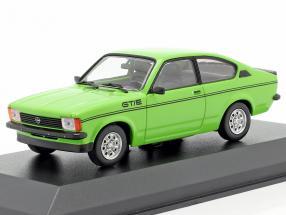 Opel Kadett C GT/E year 1978 green 1:43 Minichamps