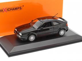 Volkswagen VW Corrado G60 year 1990 black 1:43 Minichamps