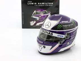Lewis Hamilton #44 Mercedes-AMG Petronas formula 1 2020 helmet 1:2