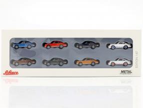 8-Car Set Porsche 911 1:87 Schuco