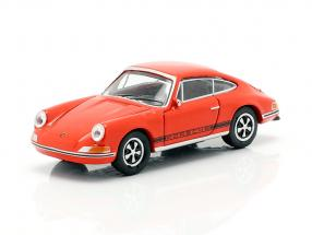 Porsche 911 S blood orange 1:87 Schuco