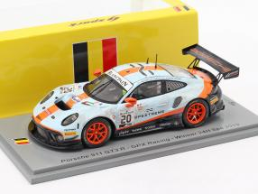 Porsche 911 GT3 R #20 winner 24h Spa 2019 Dirty Race version 1:43 Spark