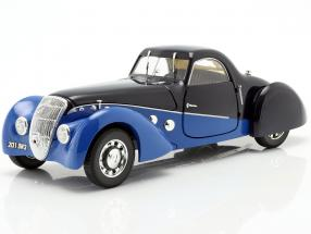 Peugeot 302 Darl'Mat Coupe year 1937 blue / dark blue 1:18 Norev