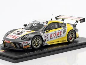 Porsche 911 GT3 R #98 5th 24h Spa 2019 Rowe Racing 1:43 Spark