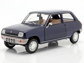 Renault 5 year 1973 dark blue 1:18 Norev