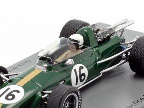 Jack Brabham Brabham BT24 #16 Practice Italian GP formula 1 1967
