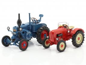 4-Car Set Tractor legends 1:43 Schuco