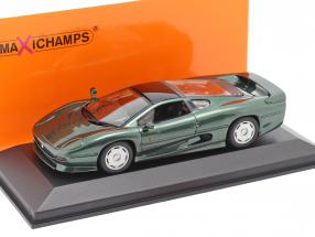 Jaguar XJ220 year 1991 dark green metallic 1:43 Minichamps