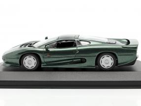 Jaguar XJ220 year 1991 dark green metallic