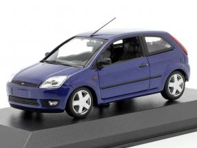 Ford Fiesta year 2002 blue metallic