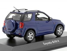 Toyota RAV4 year 2000 dark blue metallic