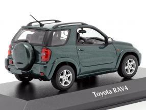 Toyota RAV4 year 2000 dark green metallic