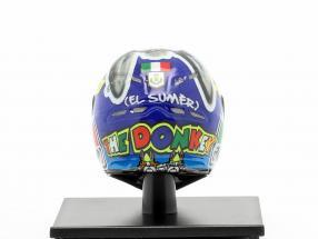 Valentino Rossi Winner Misano MotoGP World Champion 2009 AGV helmet