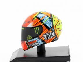 Valentino Rossi MotoGP Valencia 2011 AGV helmet